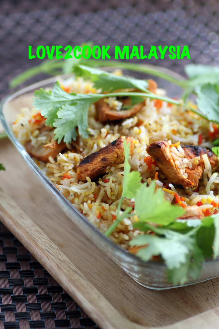 how to make chicken biryani in conventional oven