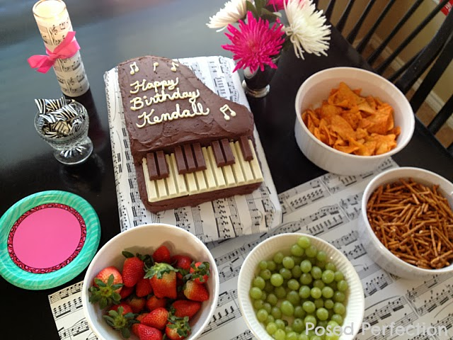 A Music Birthday Party For My Tween