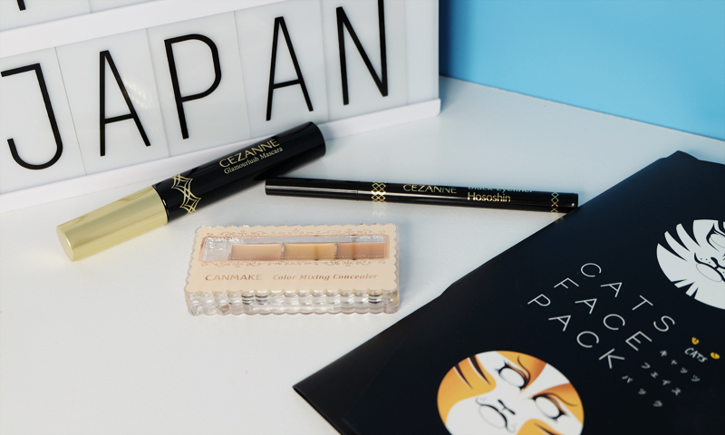 Hey Bash Beauty Haul from Japan with Cezanna and Canmake