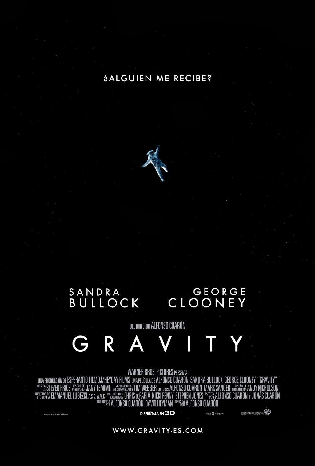 Gravity (Alfonso Cuarón, Estados Unidos)
