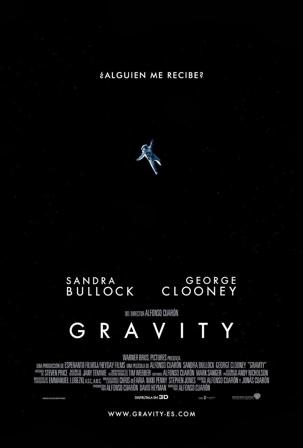 Gravity (Alfonso Cuarón, Estados Unidos)