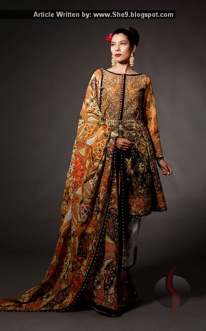 Fahad Hussayn Formal Dress Collection 2015-2016 with Prices
