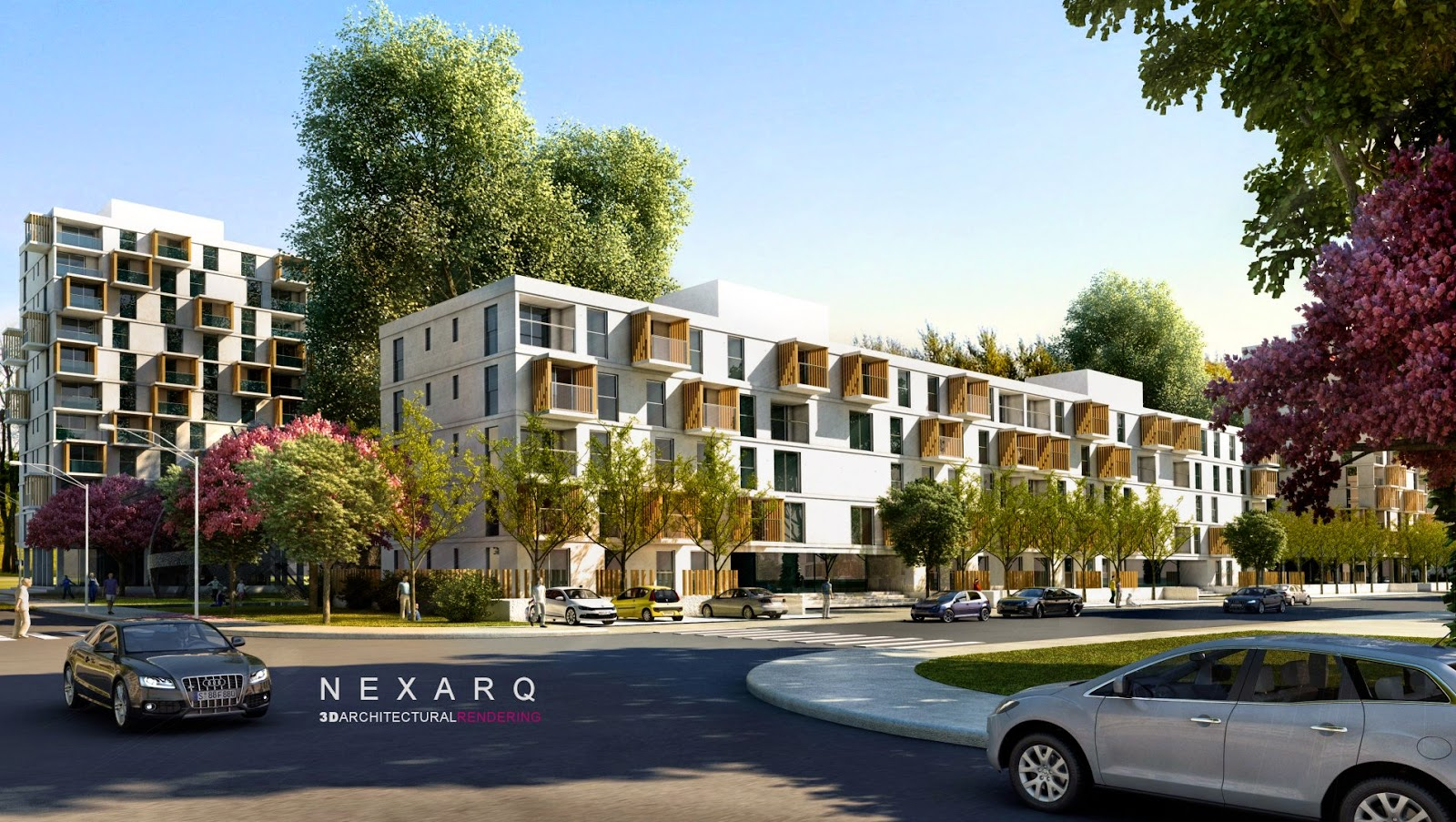 Renders arquitectura 3d animaci n y video nexarq 3d for Programas para arquitectura 3d