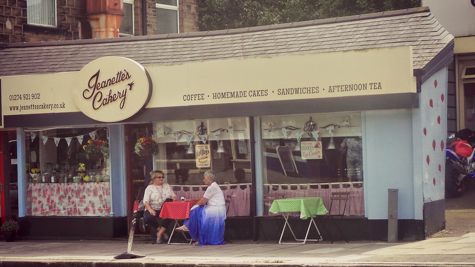 Cute vintage tea room yorkshire