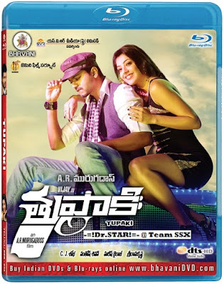 Thuppakki 2012 Hindi Dubbed BRRip 480p 500mb