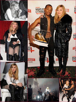 @tfnow 'On The Scene' as Madonna selects a winner for the Global Nightlife Exchange Dance Proj.