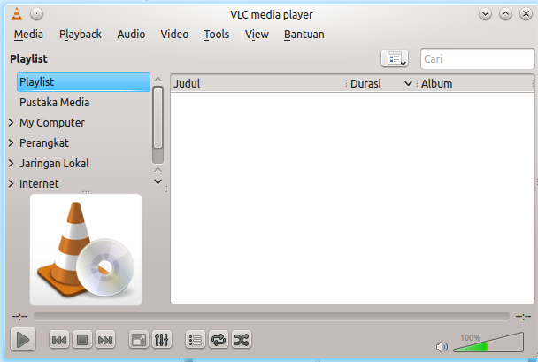 how to open vlc stream