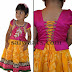 Basic Colors Kids Tissue Lehenga