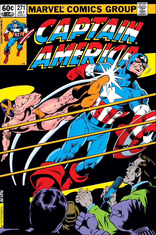 Captain America (1968) Issue #271 #187 - English 1