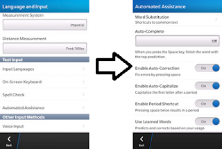 Membuat Autotext di BlackBerry Z10