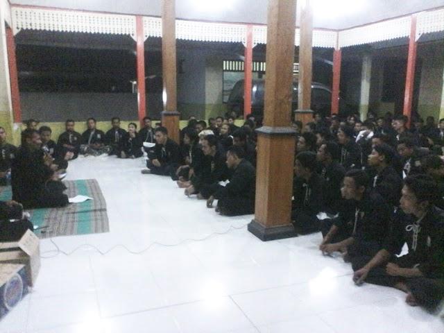 Malam 1 Syuro, PSHT Ranting Purwosari Gelar Doa Bersama dan Sarasehan