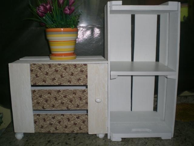 """Aparador Sofa Table ~ """"Muito além da Arte"""" CAIXOTES DE FEIRA ???? NÃO"""