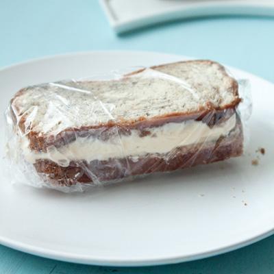 Banana Bread Ice Cream Sandwiches