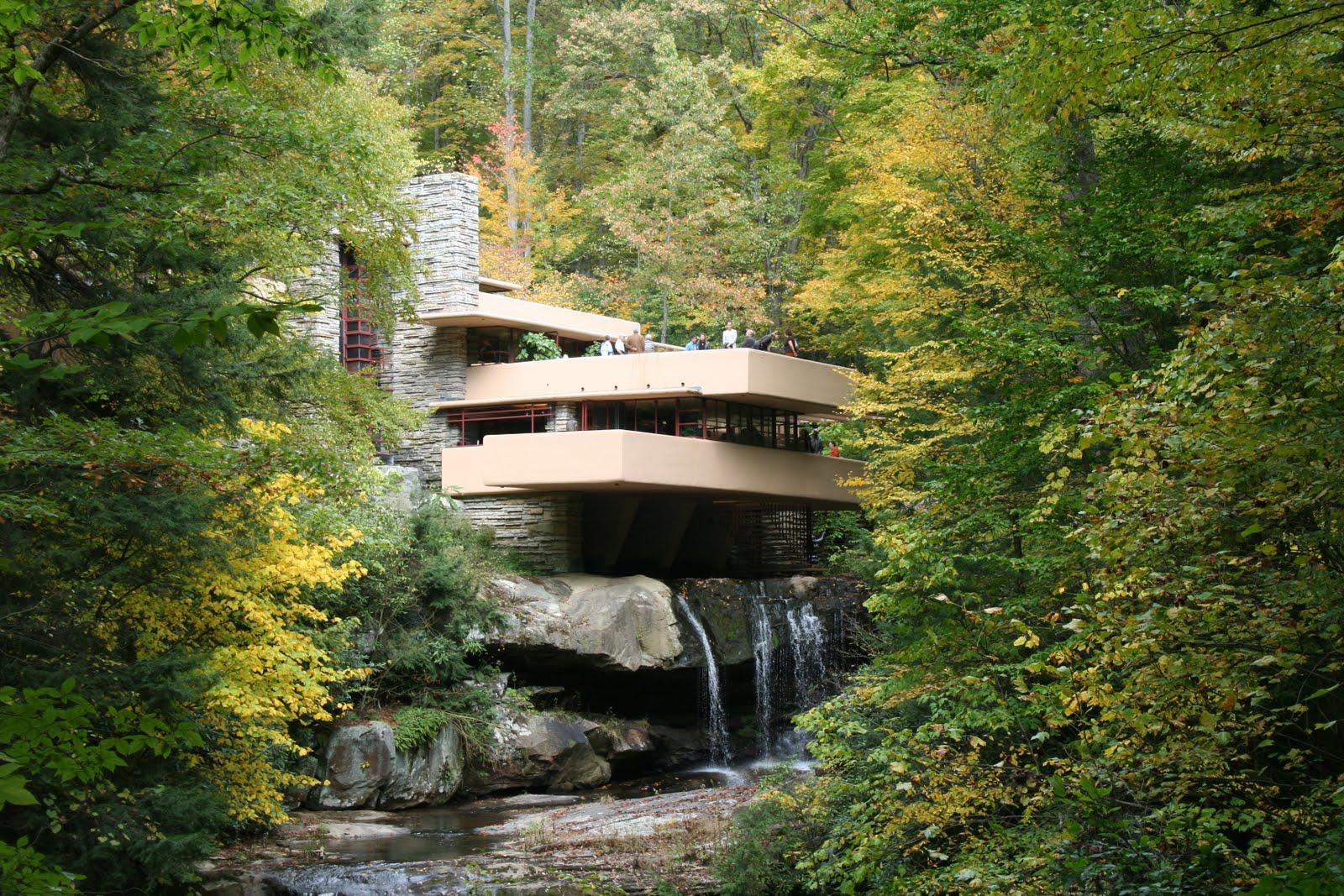 where has ron roamed fallingwater house
