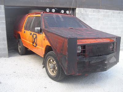 coche antizombi