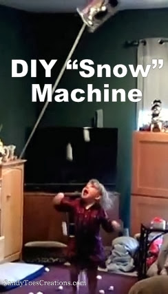 Make an Snow Machine Easy DIY for Kids
