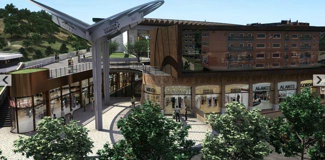 Roma fa schifo roma centro commerciale di valle aurelia for Locali commerciali roma centro