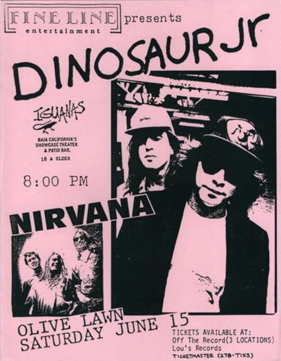 Jesus Lizard Nirvana Tour