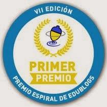 Premio Espiral edublogs 2013