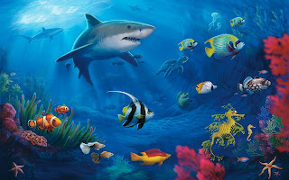 Download Underwater Ocean Background