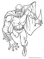 Mewarnai Gambar Magneto
