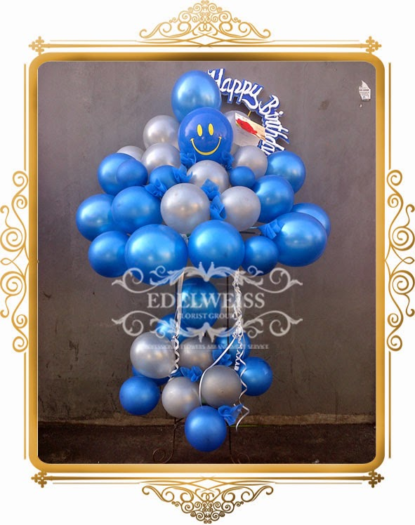 standing balon ulang tahun
