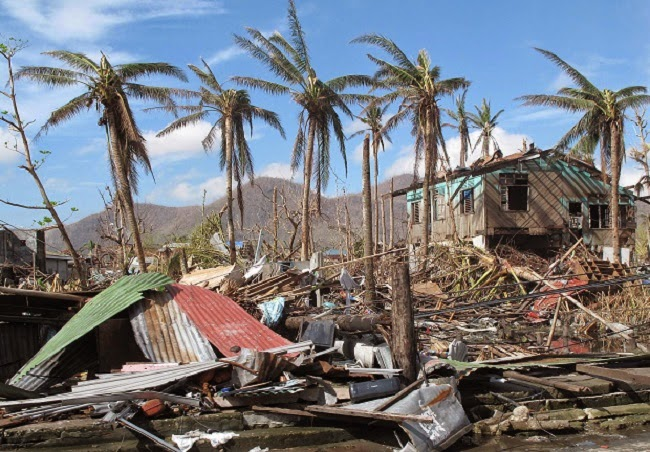 The devastating effects of typhoons and other extreme weather events are undermining development in countries such as the Philippines. (Image Credit: Henry Donati/DFID via Wikimedia Commons) Click to Enlarge.