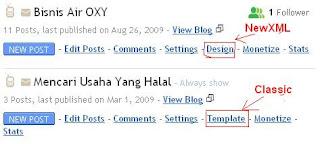 Panduan Cara Merubah Template Blogspot