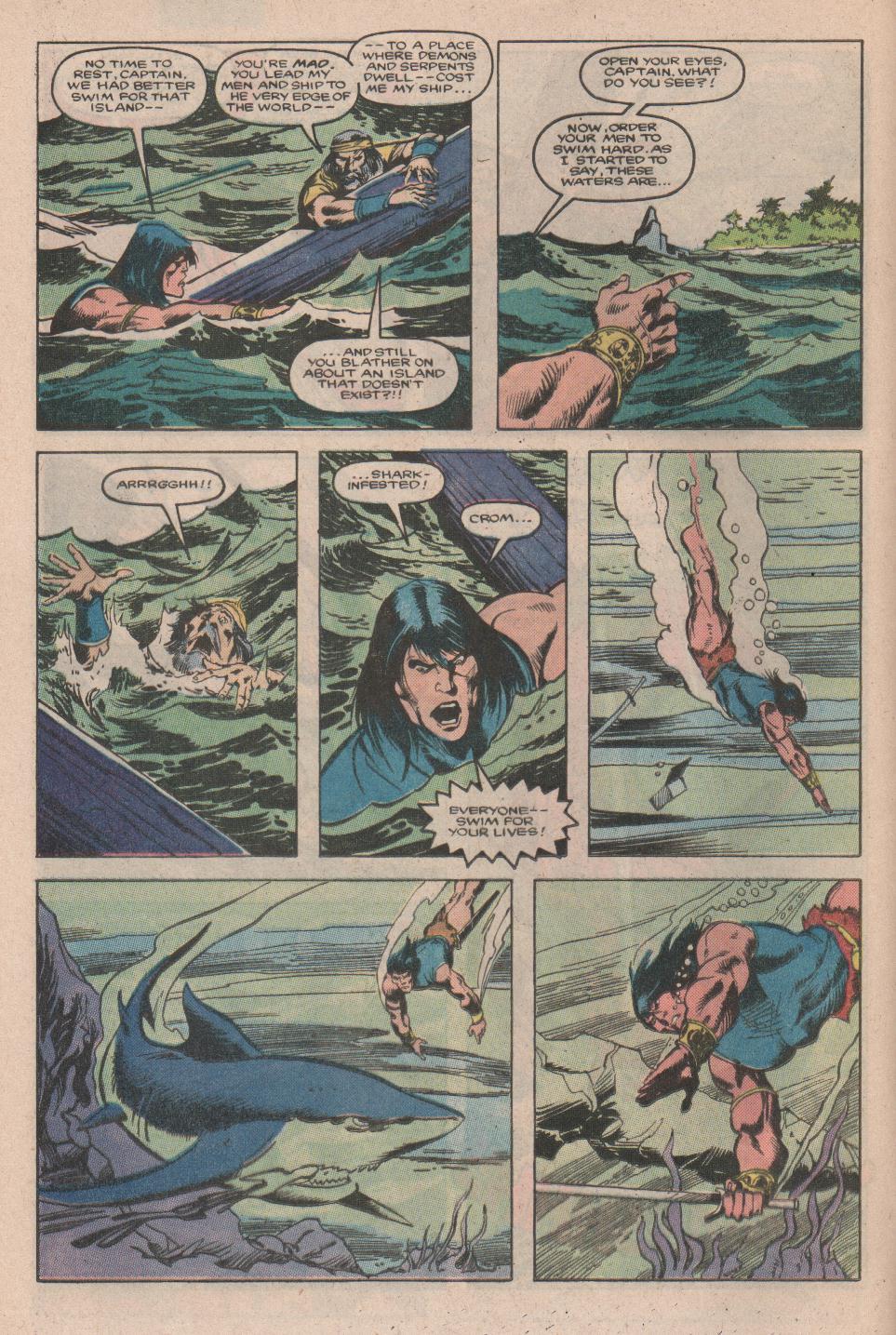 Conan the Barbarian (1970) Issue #177 #189 - English 9