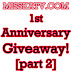 MissKatV's 1st Anniversary Giveaway! [Part 2]