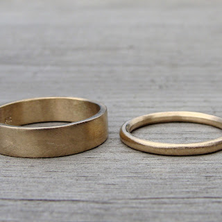 recycled wedding bands