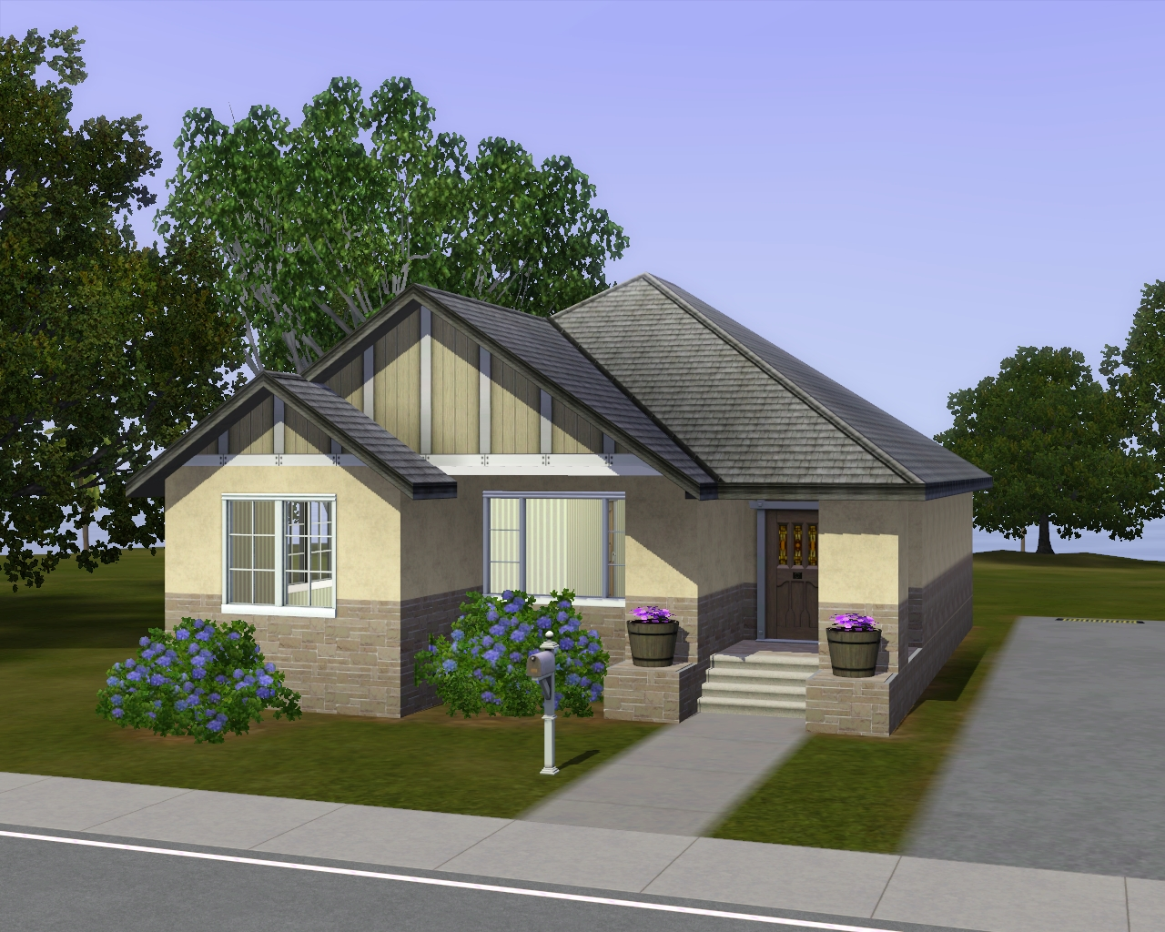 Summer 39 s little sims 3 garden starlight shores the sims for Compact cottages