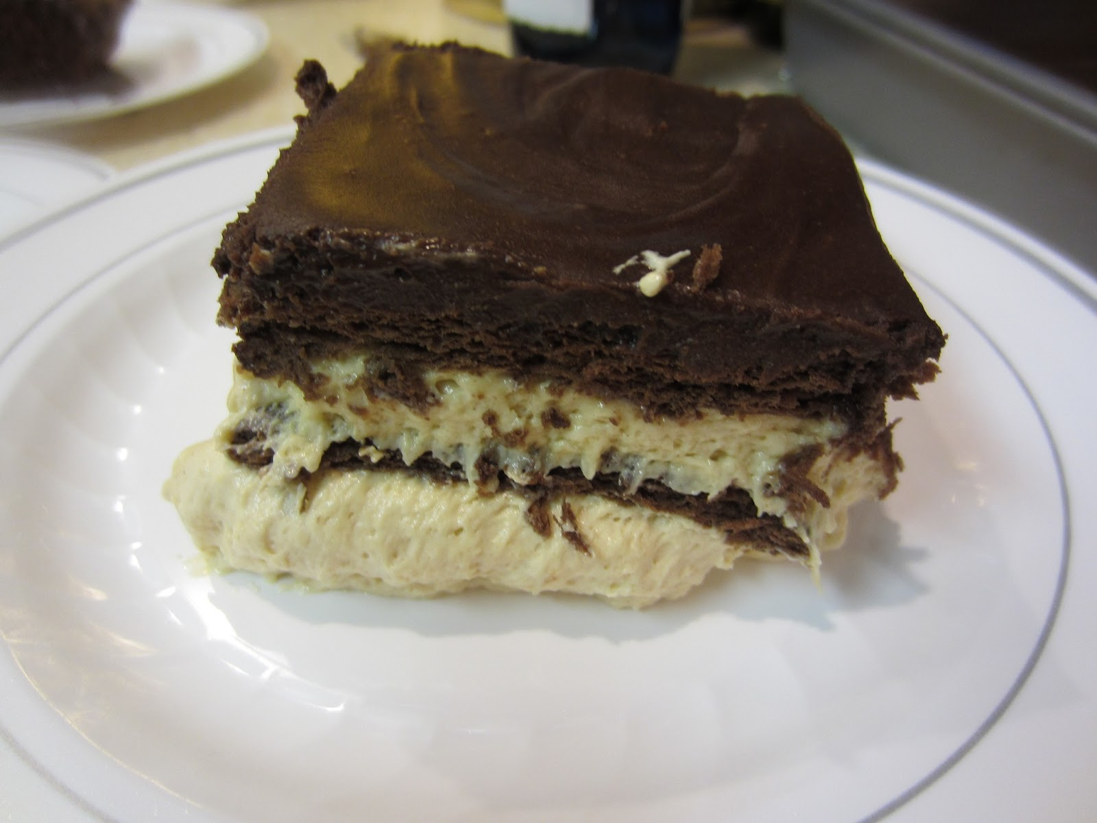 My Patchwork Quilt: CHOCOLATE PEANUT BUTTER DESSERT