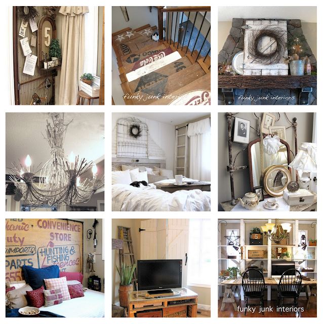 Projects by Funky Junk Interiors, on what may be taught at Bella Rustica, Sept 28 29 30 2012. via Funky Junk Interiors