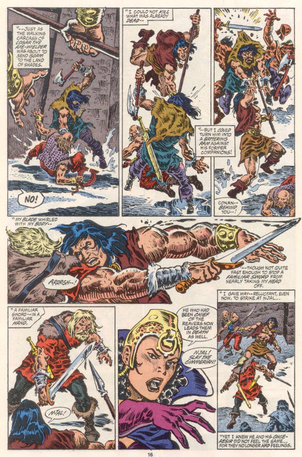 Conan the Barbarian (1970) Issue #254 #266 - English 13