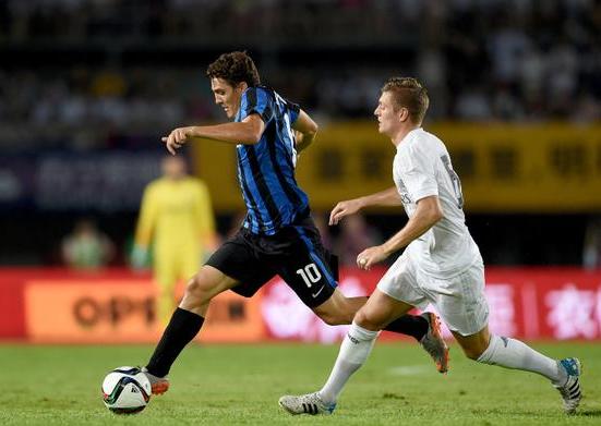 Cuplikan Gol Inter 0-3 Real Madrid ICC 2015