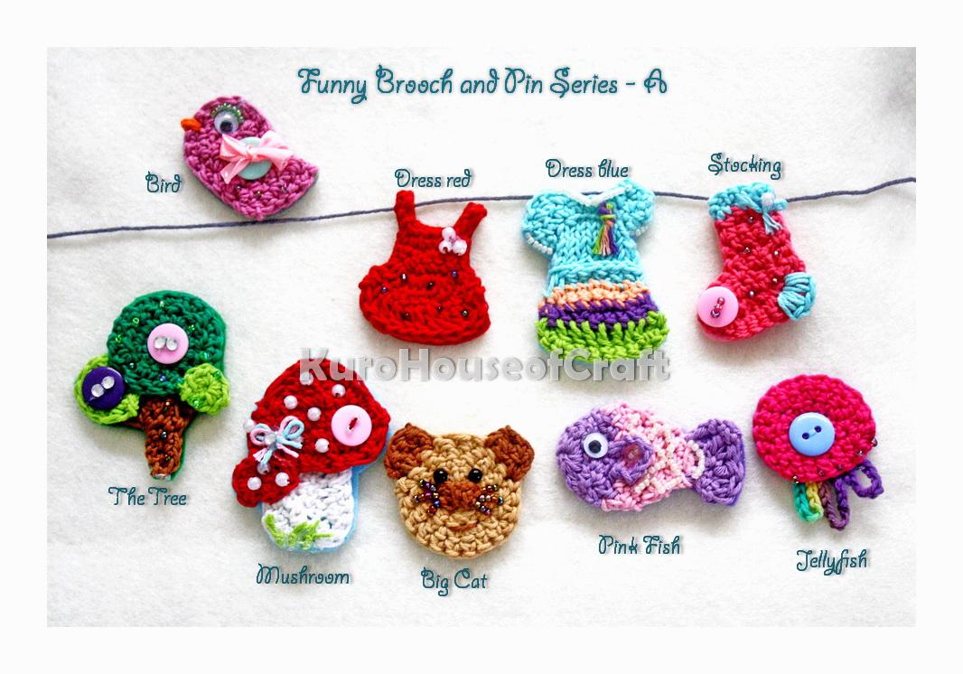 Knitted Artinya : Kurohouse of craft belajar crochet quot merenda part