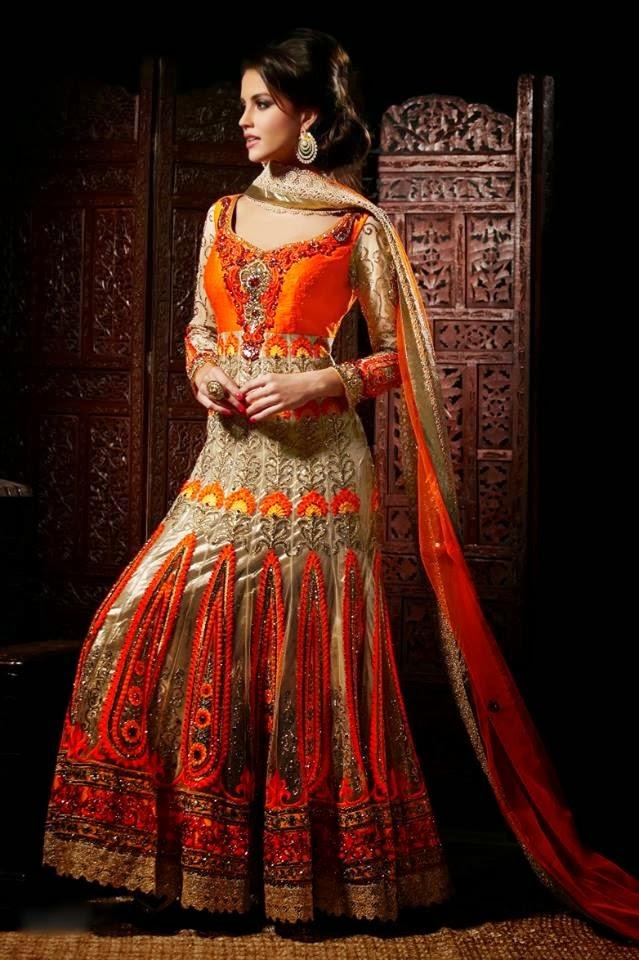 Top Classy Indian Wedding Bridal Lehenga Frocks