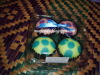 doorgift 4 biji apam polkadot