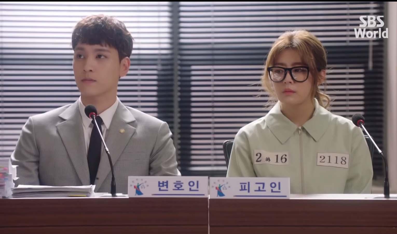 Lessons From the TV Series Suspicious Partner, Ji Eun-Hyuk (Choi Tae-Joon) defending Eun Bong Hee (Nam Ji Hyun)