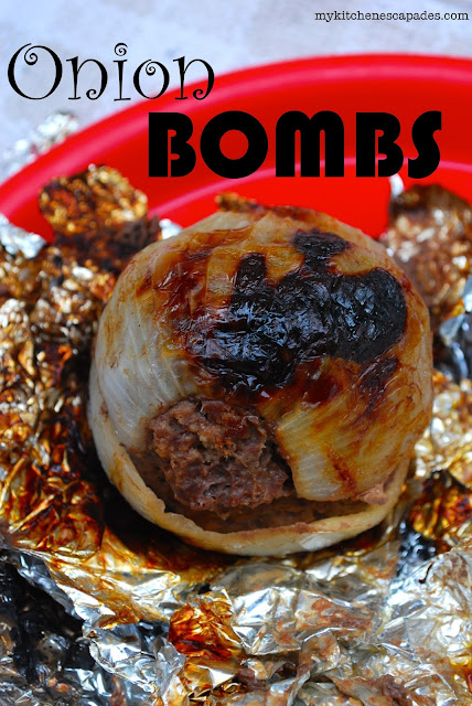 Onion Bombs for the campfire