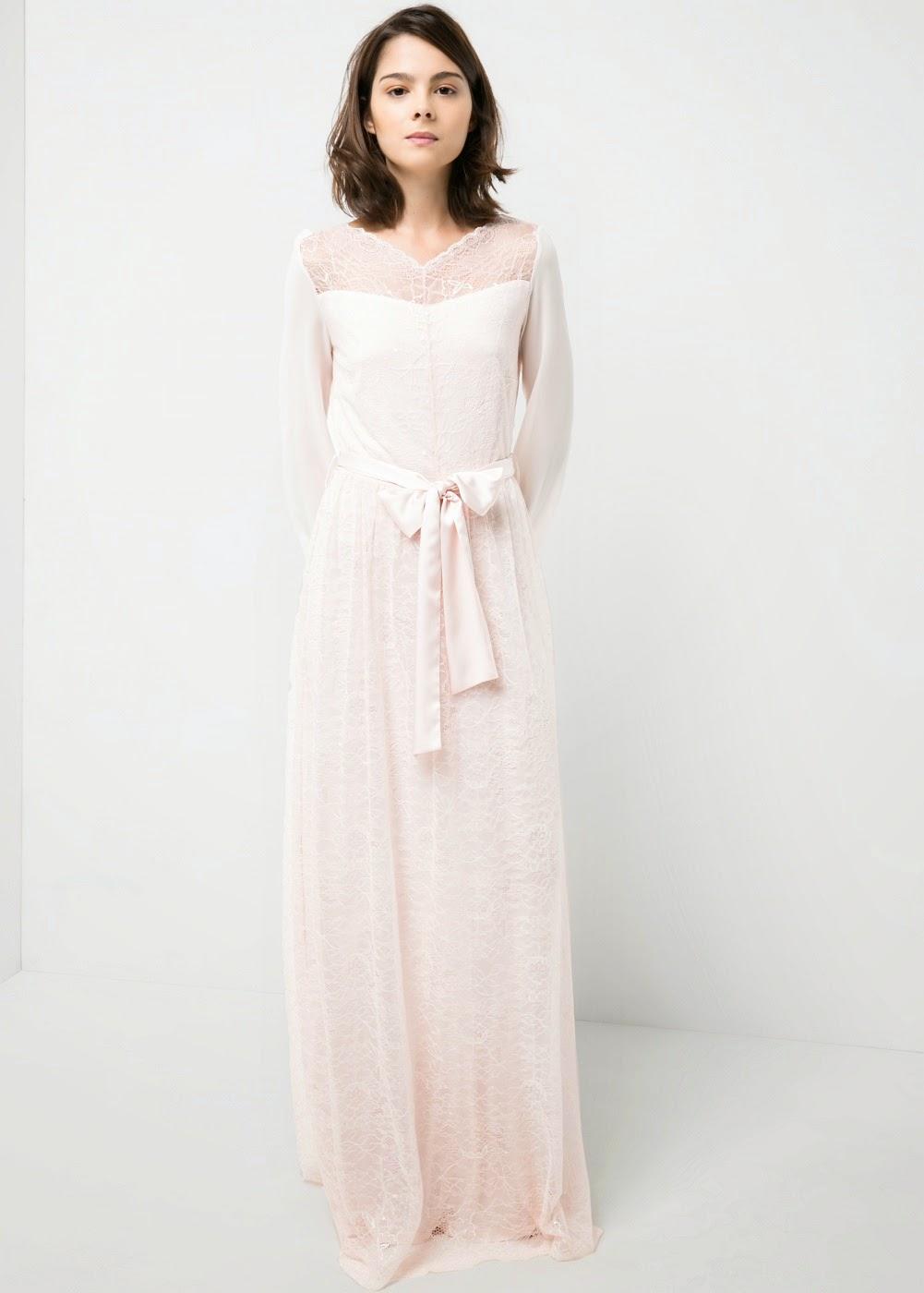 diez vestidos de novia baratos de Mango blog bodas Mi boda gratis