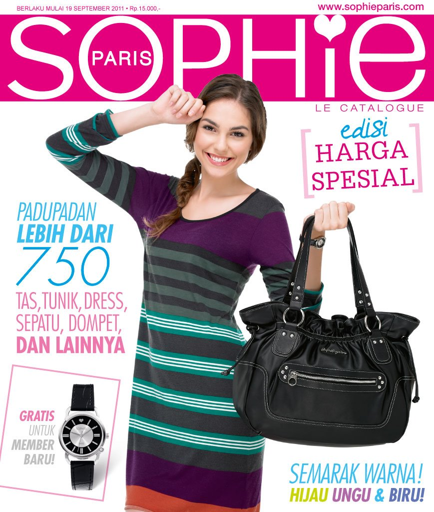 Katalog Sophie Martin Paris terbaru edisi September - Oktober 2011