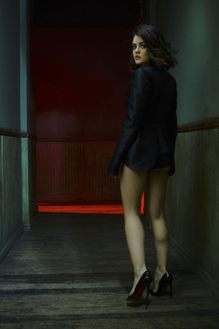 Lucy Hale V Magazine August 2015 photoshoot