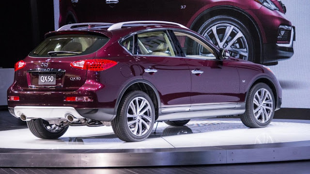 2016 Infiniti QX50 Specs and Review