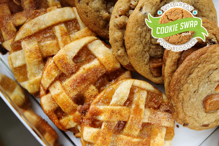 Baked Apple Pie Cookies #FBCookieSwap 2014