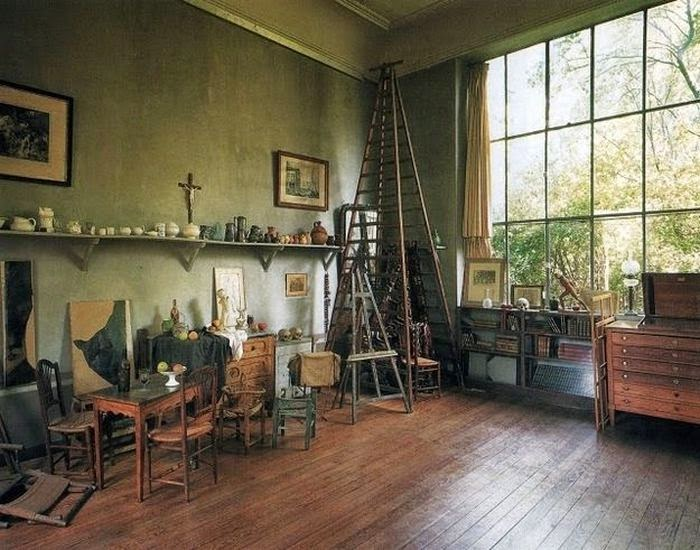 Workspaces Of The Greatest Artists Of The World (38 Pictures) - Paul Cézanne, painter
