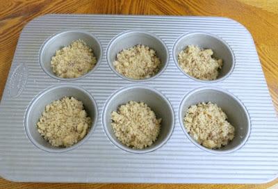 Crafting Crumbs Creme Brulee Muffins