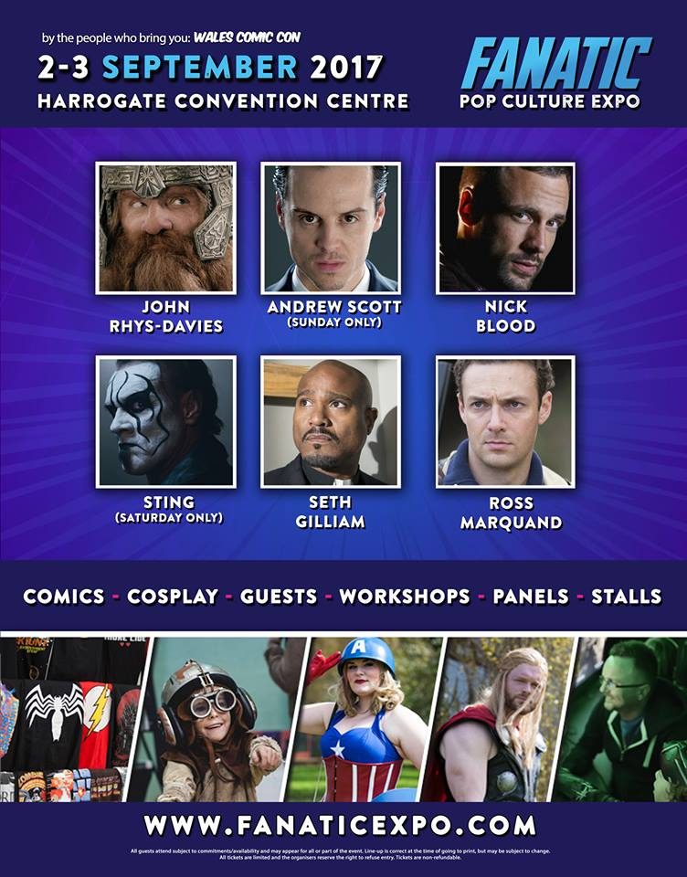 Fanatic Expo (September 2nd-3rd)
