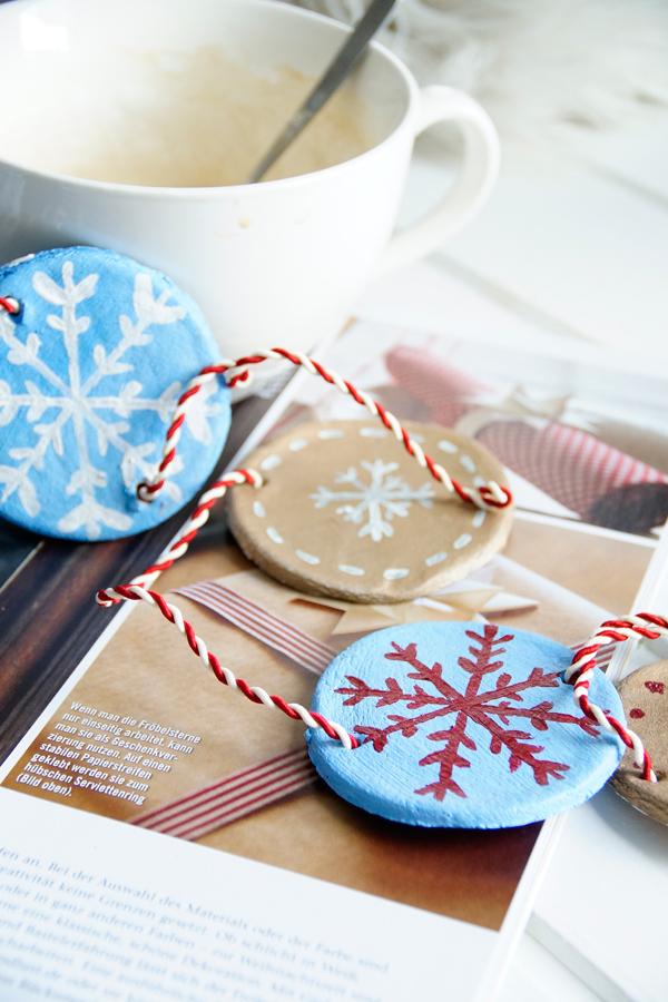 Salzteig, DIY, Girlande basteln, Weihnachten
